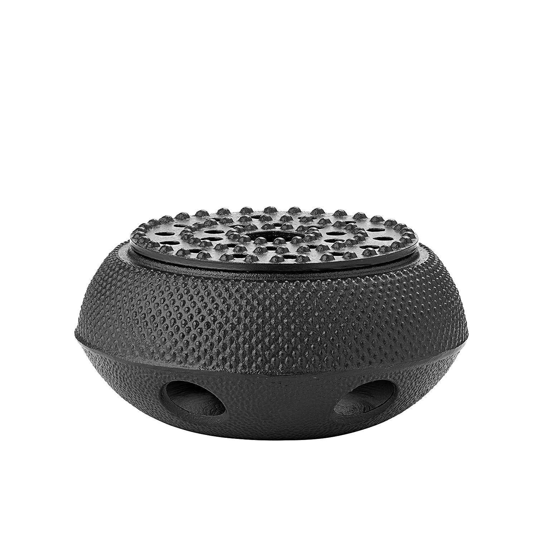 """Old Dutch International 1078MB 6"""" Teapot Matte black cast iron tetsubin warmer 5.7"""","""