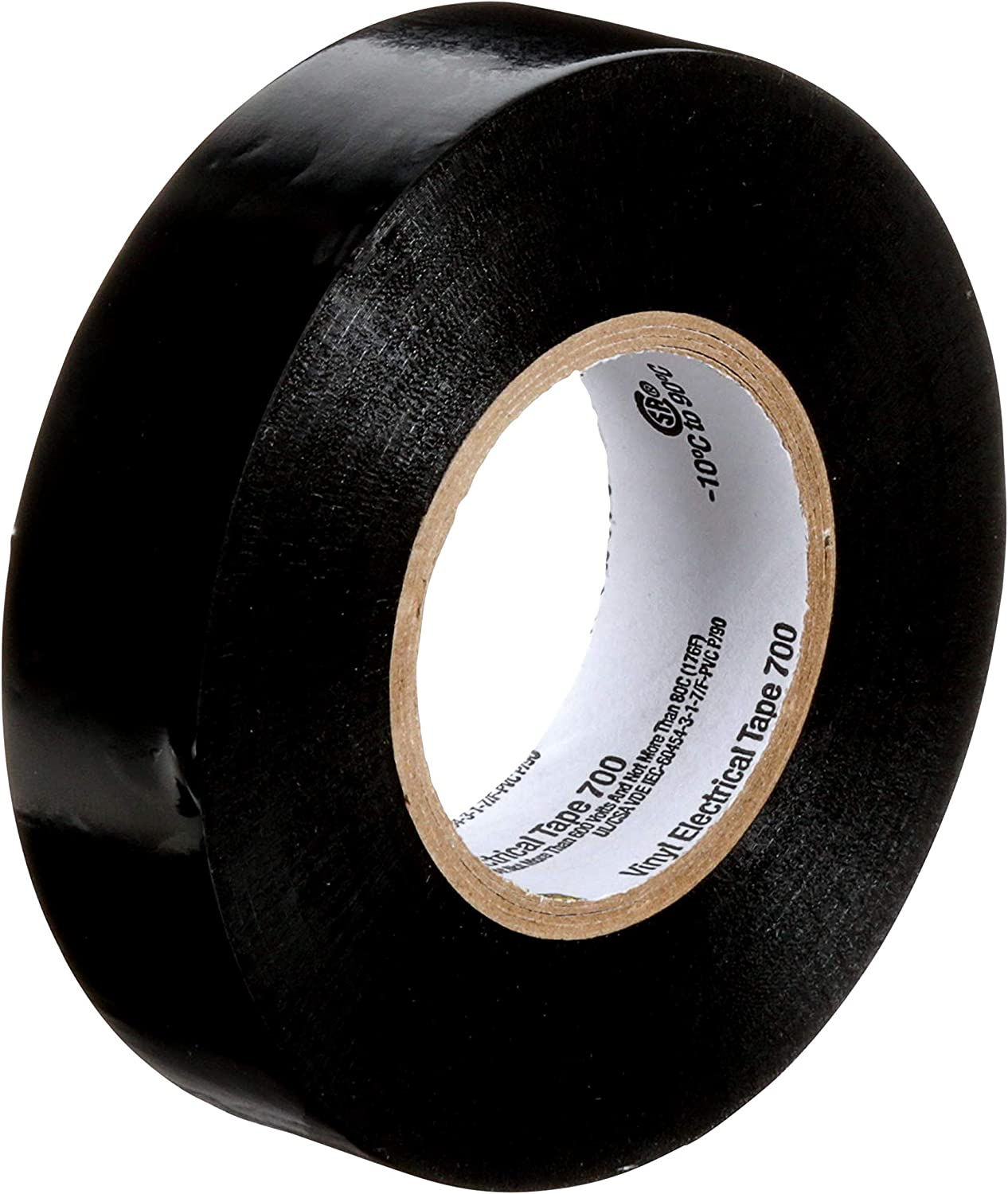 Scotch® Vinyl Electrical Tape 700 3//4 in x 66 ft Black