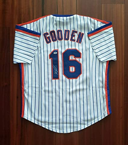 best loved c9512 5132f Dwight Gooden Signed Jersey - Doc - PSA/DNA Certified ...