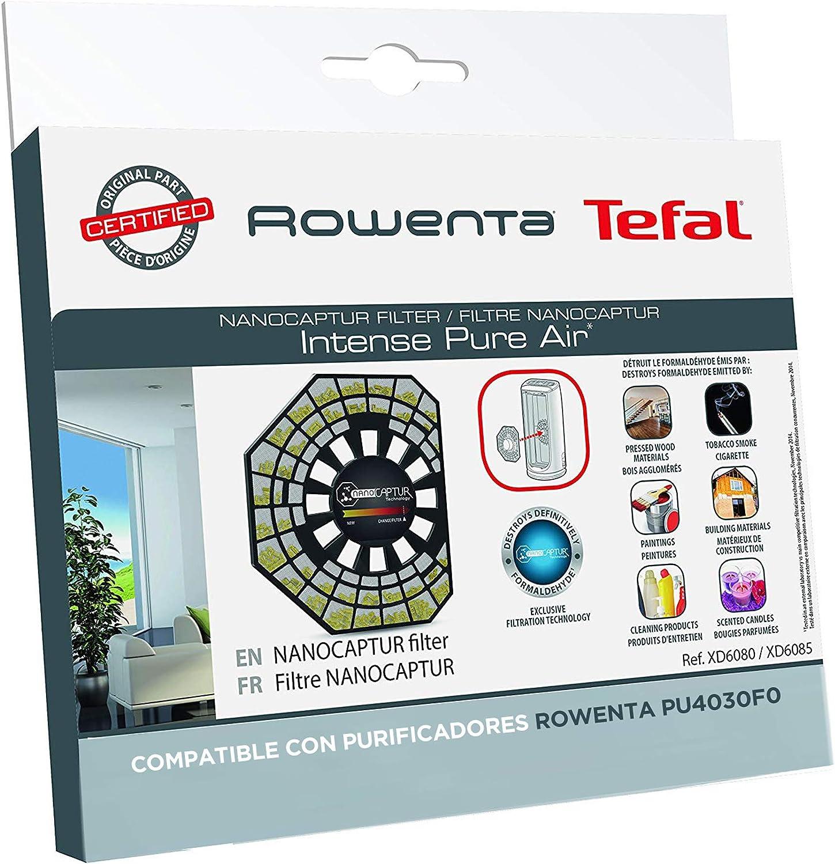 Rowenta Nano Captur XD6083 - Filtro Recambio para Purificador Rowenta Air Intense PU6020 y PU6080: Amazon.es: Hogar