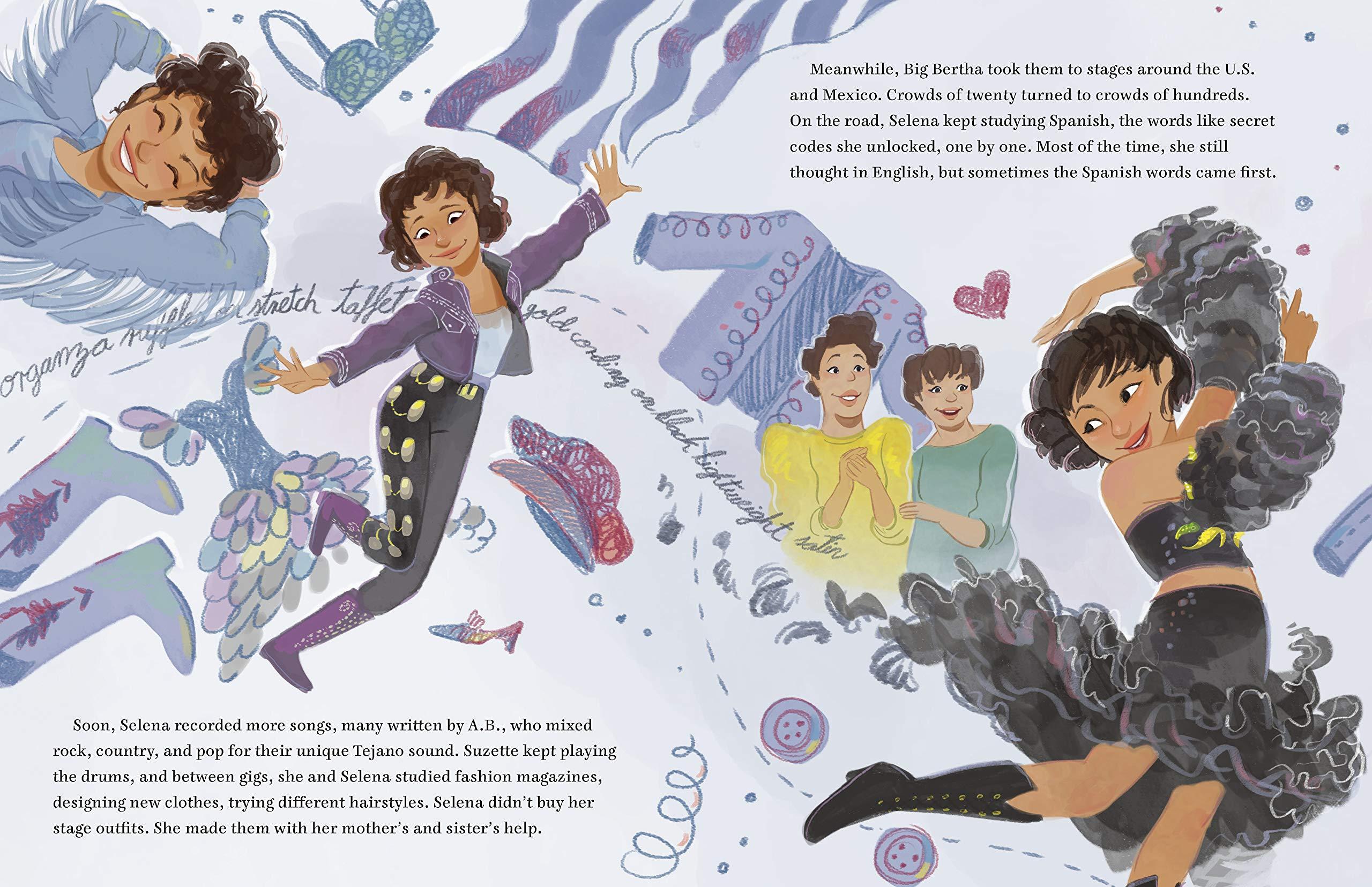 Sing with Me: The Story of Selena Quintanilla: López, Diana, Martinez,  Teresa: 9780593110959: Amazon.com: Books