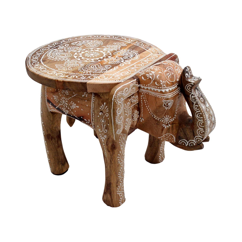 Gall/&Zick Table Basse en Bois de manguier Peinte /à la Main