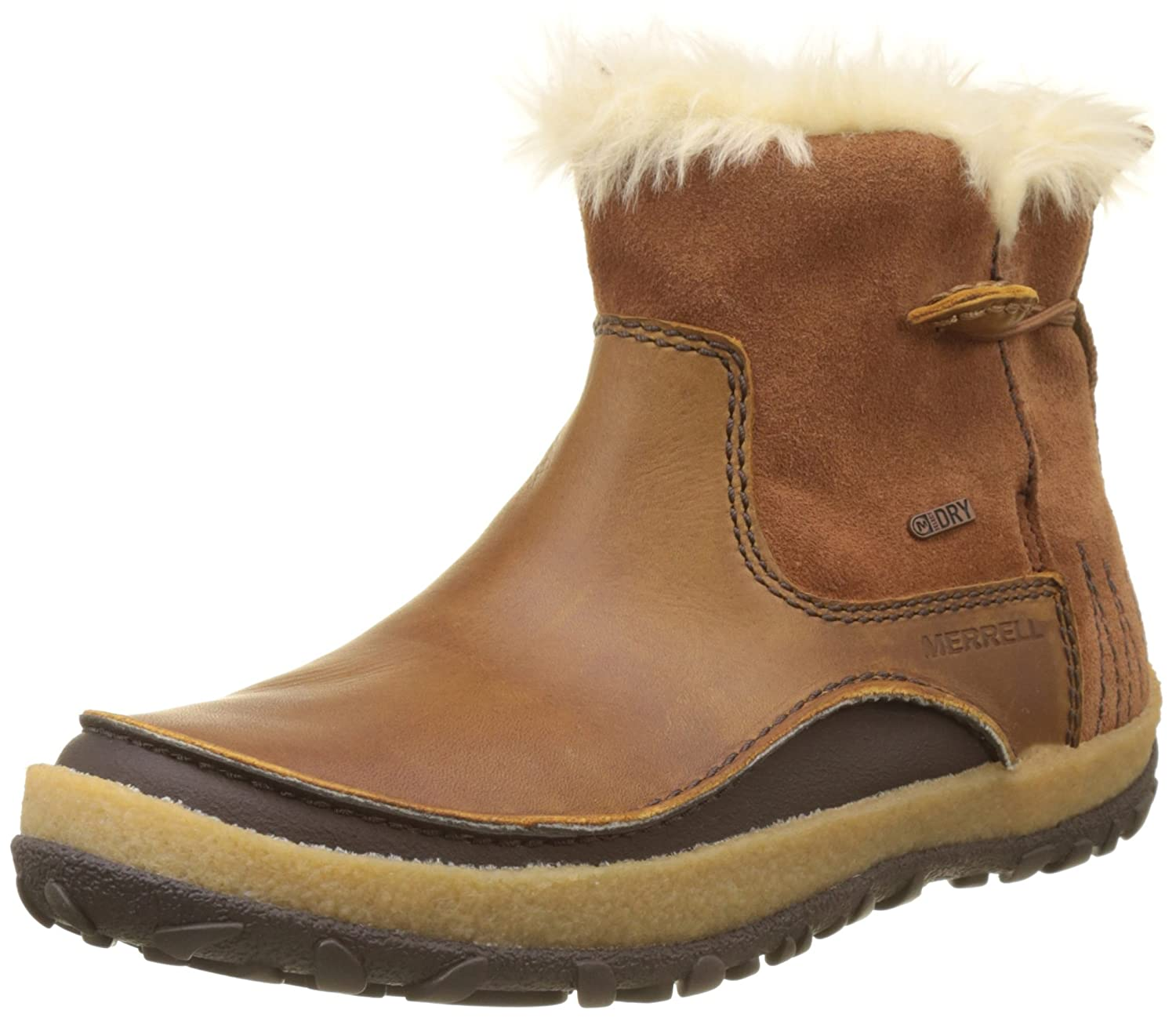 Merrell Women's Tremblant Pull on Polar Waterproof Snow Boot B01NBXUIW2 10.5 B(M) US|Merrell Oak
