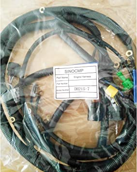 Amazon.com: DH215-7 Engine Wiring Harness - SINOCMP Wiring Harness For  Daewoo Doosan DH215-7 Excavator Parts 3 Month Warranty (engine harness):  AutomotiveAmazon.com