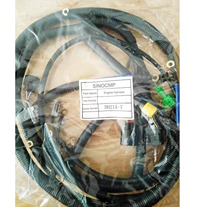 Arnés de cableado del motor DH215-7 - SINOCMP para Daewoo Doosan ...