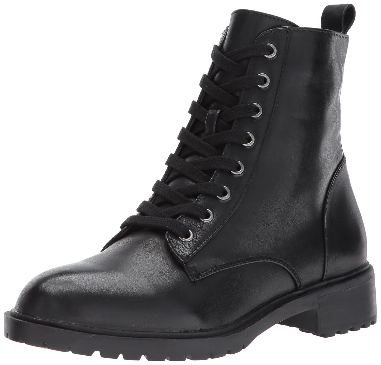 Steve Madden Women's Officer Ankle Bootie B06XYGZKG2 10 B(M) US|Black Leather