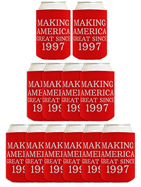 21st Birthday Gift Ideas Making America Great Since 1997 Decorations Gifts For