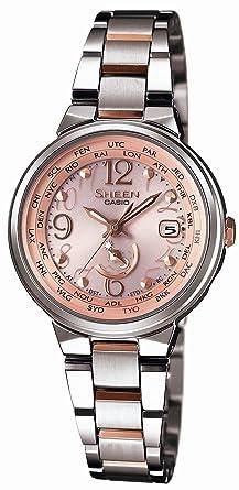 5e849c8697 [カシオ]Casio 腕時計 SHEEN シーン 世界6局電波ソーラーウォッチ SHW1507SG4AJF レディース