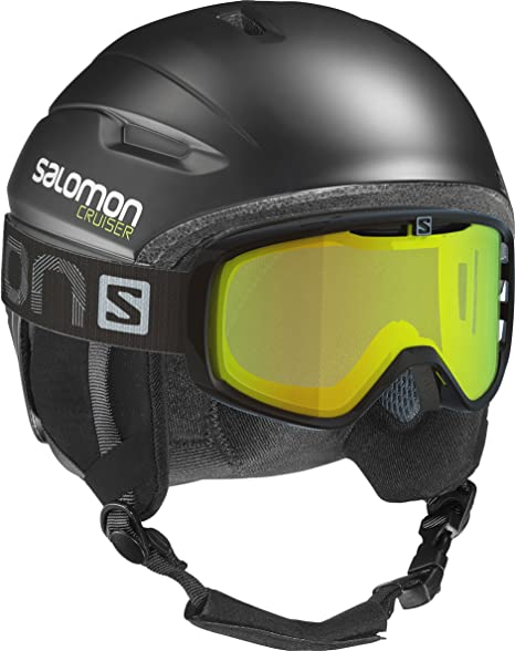 Custom Air Interior de Espuma EPS 4D Salomon Quest Casco de esqu/í y Snowboard para Hombre