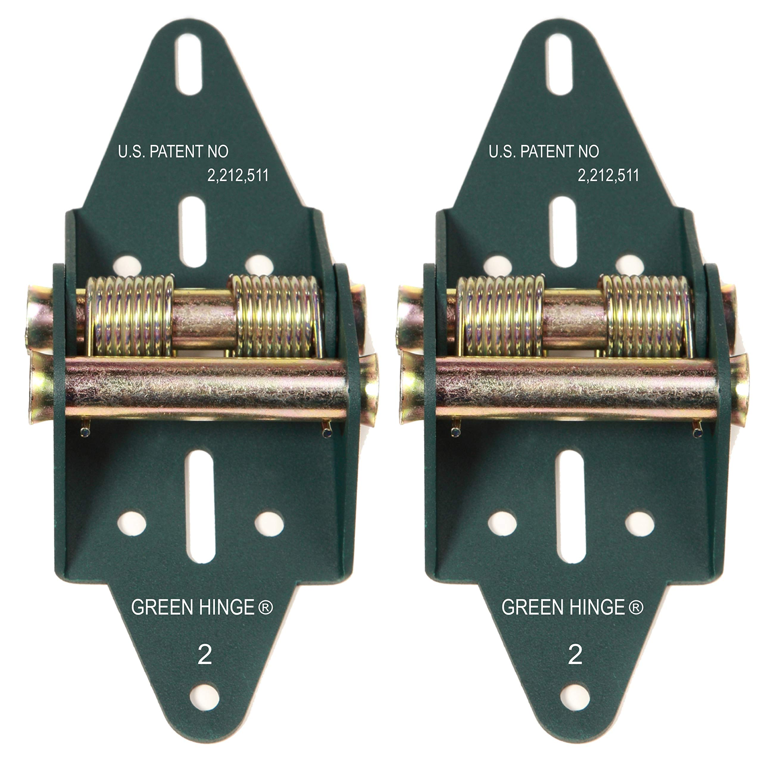Garage Door Hinge Spring Loaded Self Sealing Energy Saver 4 Panel Commercial MFG# C4416-40 by Green Hinge System (Image #1)