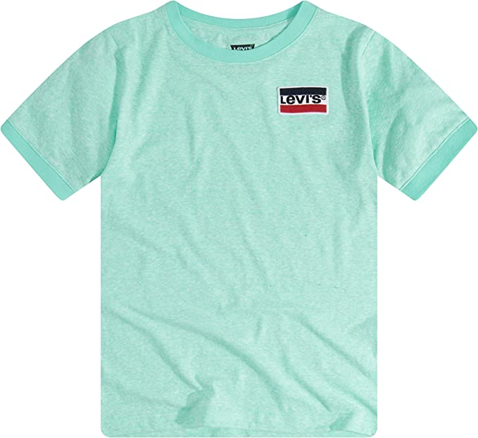 Levis Basic T-Shirt Camiseta para Niños: Amazon.es: Ropa y accesorios