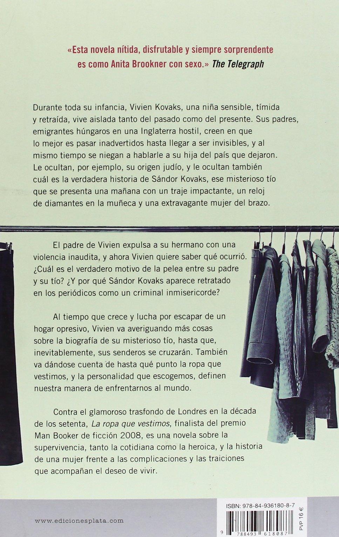 La Ropa que Vestimos (Spanish Edition): Linda Grant, Maria Isabel Merino Sanchez: 9788493618087: Amazon.com: Books