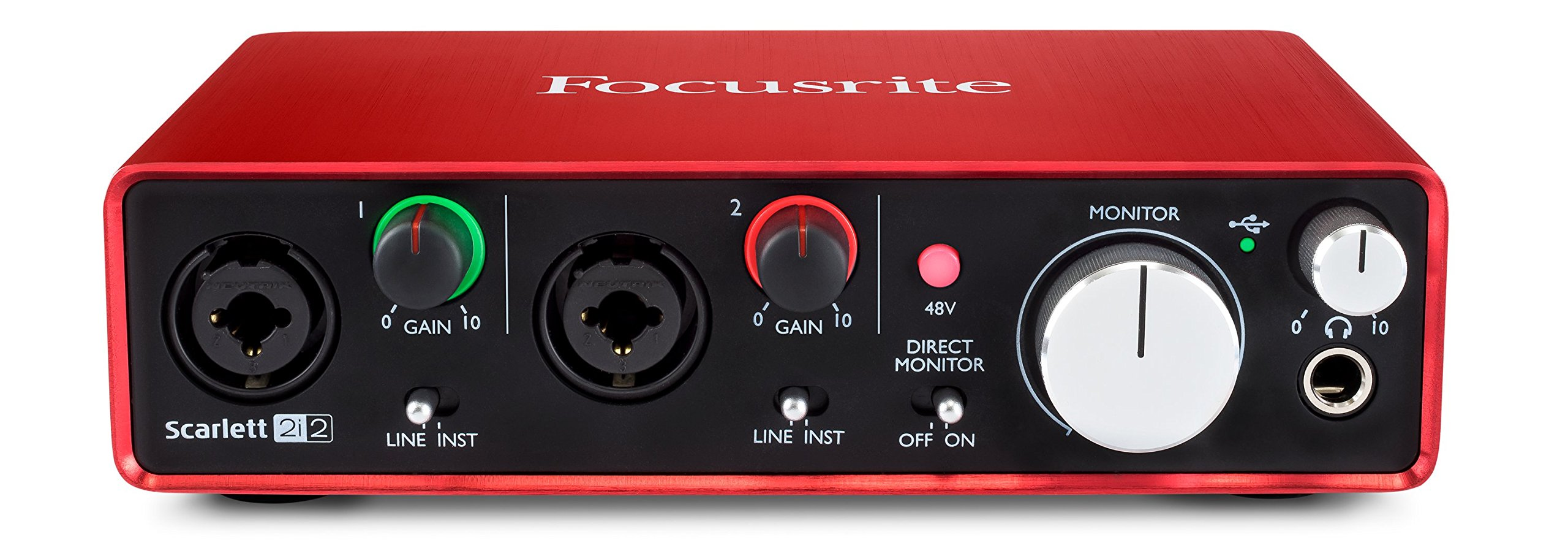 Focusrite Scarlett 2i2 (2nd Gen) USB Audio Interface with Pro Tools | First by Focusrite (Image #2)