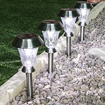 Multi Coloured Solar Powered Garden Lights with Remote Control 4