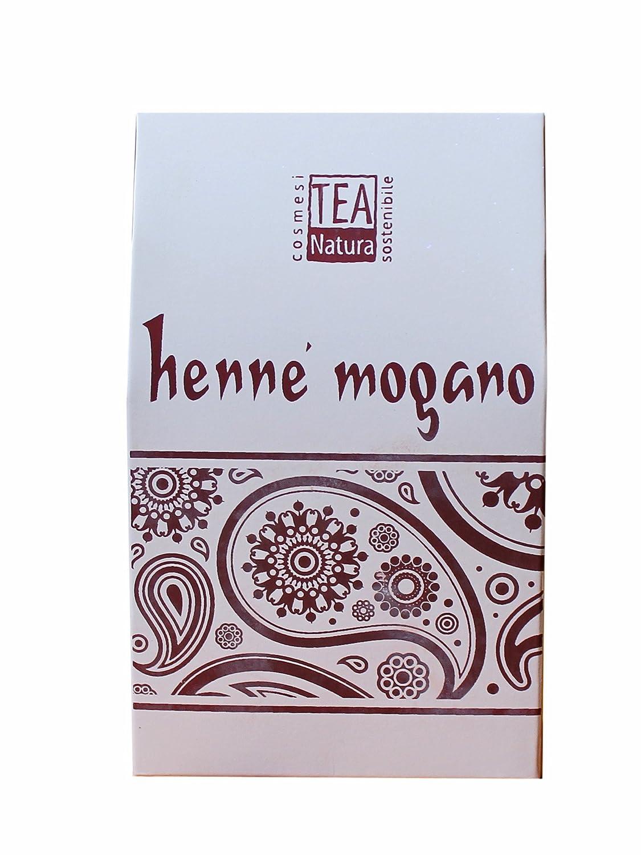 Tea Natura - Jena de color caoba con lawsonia e índigo, paquete de 100 g