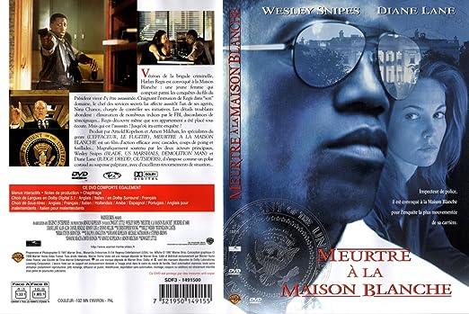 jaquette dvd - meurtre à la maison blanche: Amazon.fr: Cuisine