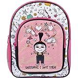 Despicable Me 3 Agnes Backpack Unicorns Pink Glitter Girls School Bag Travel