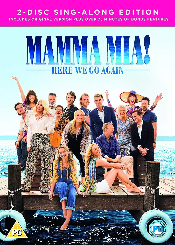 0a4ab3d9 Mamma Mia! Here We Go Again DVD + Digital Download 2018: Amazon.co.uk:  Amanda Seyfried, Lily James, Meryl Streep, Colin Firth, Pierce Brosnan, ...