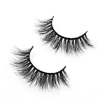 00504552c44 Mink Lashes Strip Long Thick Black Fake Lash Dramatic 3d Mink False  Eyelashes for Women's Makeup
