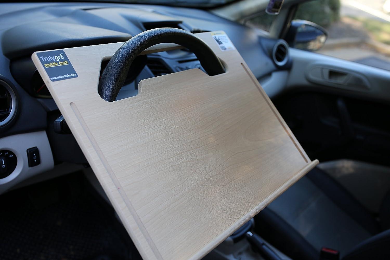 amazon com wheeldesk executive size 18 1 2 x 14 1 2 car table rh amazon com steering wheel desk staples steering wheel desk reviews