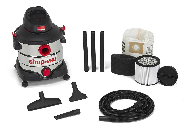 Shop Vac 5989400 8 Gallon 60 Peak Hp Stainless Wet Dry Vacuum