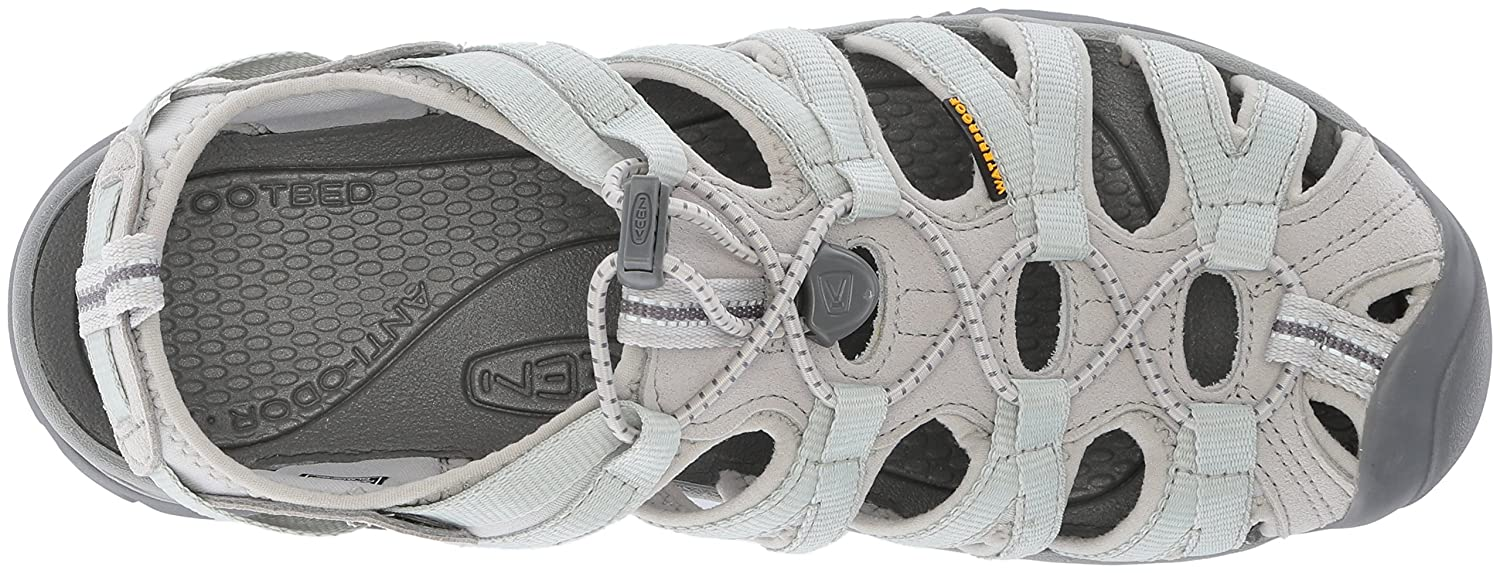 KEEN Women's 9.5 Whisper-w Sandal B071Y491DY 9.5 Women's B(M) US|Vapor/Steel Grey 308784