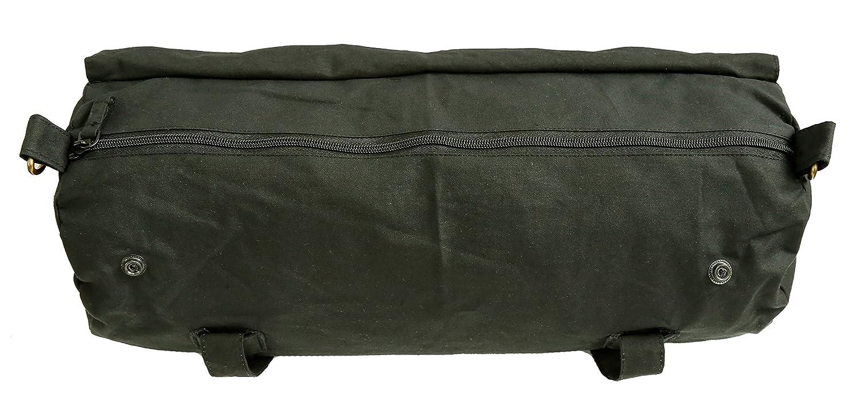 Motorcyle Bag KTA Kakadu Traders Australia Microwax Oilskin Jacket Bag