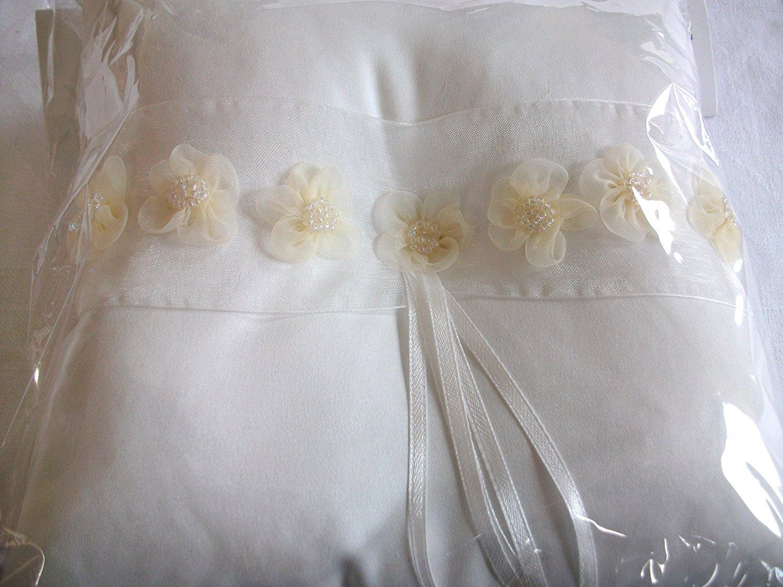 Cojín para Arras de boda cojín crema 20 x 20 cm: Amazon.es ...