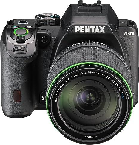 Pentax K-S2+18-135WR - Cámara fotográfica digital, color negro ...