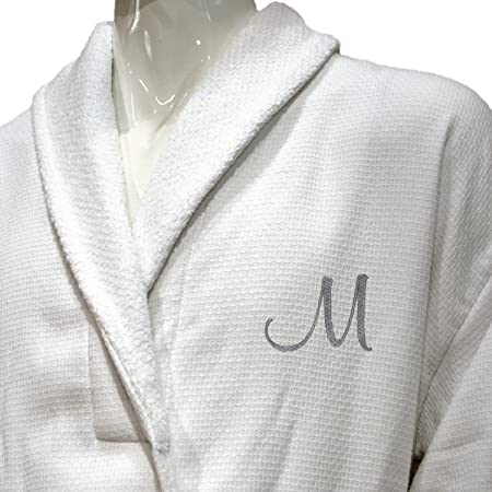 BgEurope 5  HOTEL EDITION WHITE WAFFLE TERRY MEN BATHROBE f52175b09