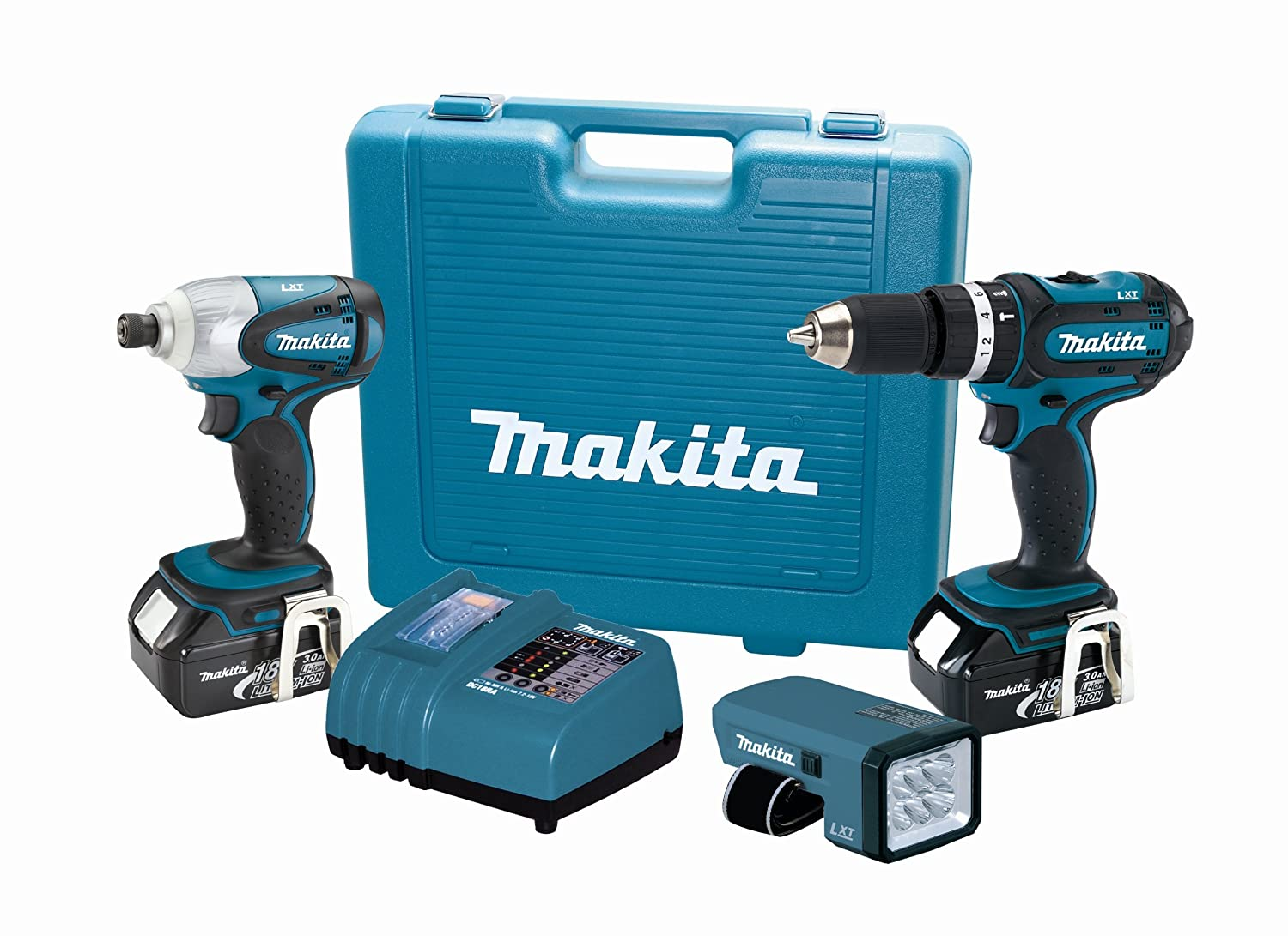 Makita LXT318 18-Volt LXT Lithium-Ion Cordless 3-Piece Combo Kit Discontinued by Manufacturer