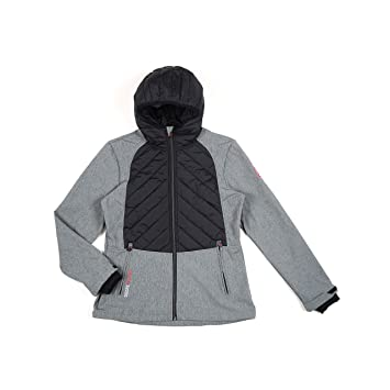 Degré Celsius - Chaqueta Softshell Mujer - Ander-Gris-S ...