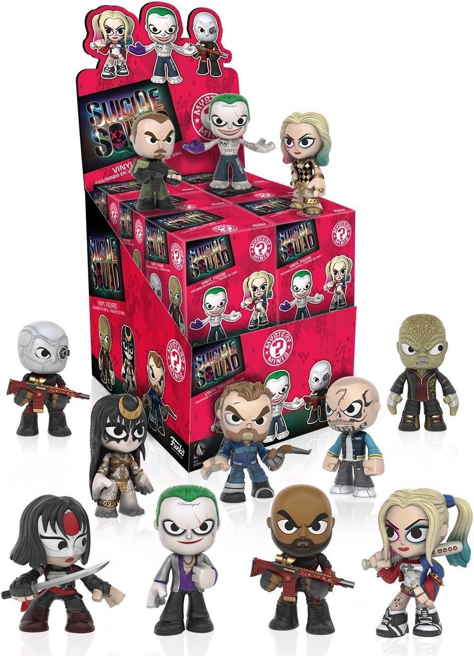 Funko - Figurine DC Heroes Suicide Squad Mystery Minis - 1 boîte au hasard / one Random box - 0849803091149: Amazon.es: Juguetes y juegos