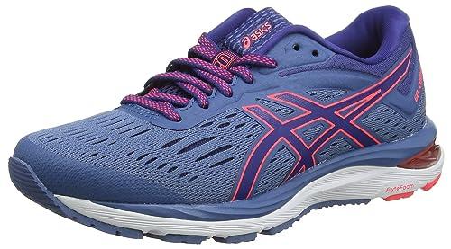Asics Gel-Cumulus 20, Zapatillas de Running Unisex Adulto, Azul (Azure/Blue Print 401), 35.5 EU: Amazon.es: Zapatos y complementos