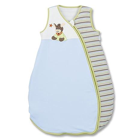 Sterntaler Emmi -Saco de dormir de verano para bebé (tejido jersey) verde Talla