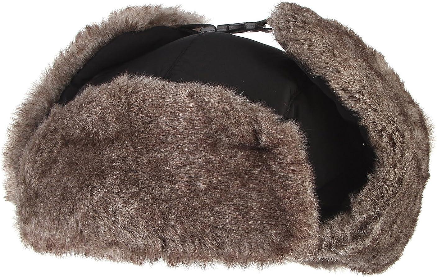 EOZY Unisex Sport Outdoor Wasserdicht Fellm/ütze Hat mit Mundschutz Winter