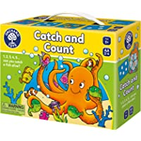 Orchard Toys Catch & Count - Fun and Educational Counting Game, Perfect for Home Learning, Age 4+ - Perfect for Home…