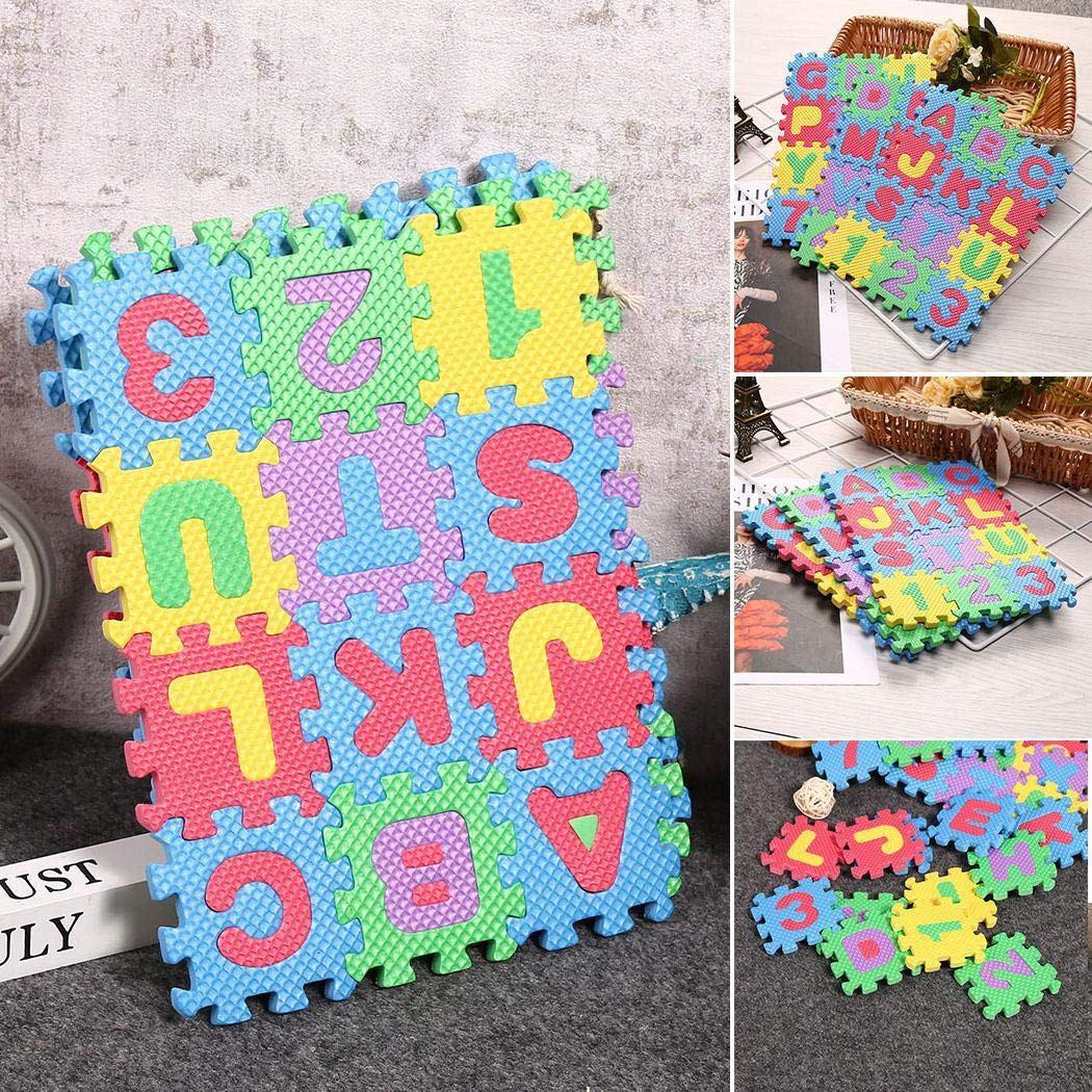 Amazon.com: ONERIOME 36PCS Foam Puzzle Play Mats for Baby ...