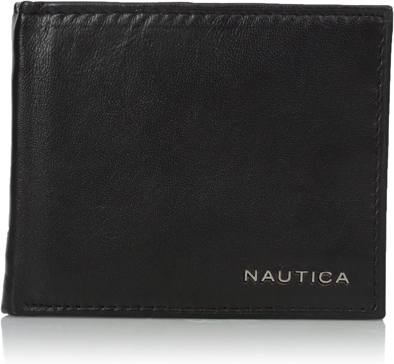 Nautica Mens Passcase Wallet