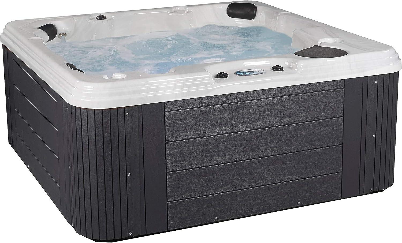 Essential Grey Polara Hot Tub