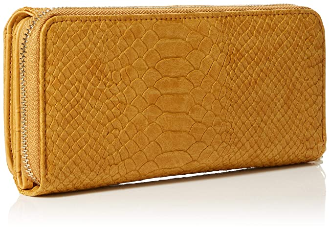 Desigual - Mone_aquiles_maria, Carteras Mujer, Amarillo (Ocre), 3x9.5x20.2 cm (B x H T): Amazon.es: Zapatos y complementos