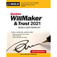 Image for Quicken Willmaker & Trust 2021: Book & Software Kit