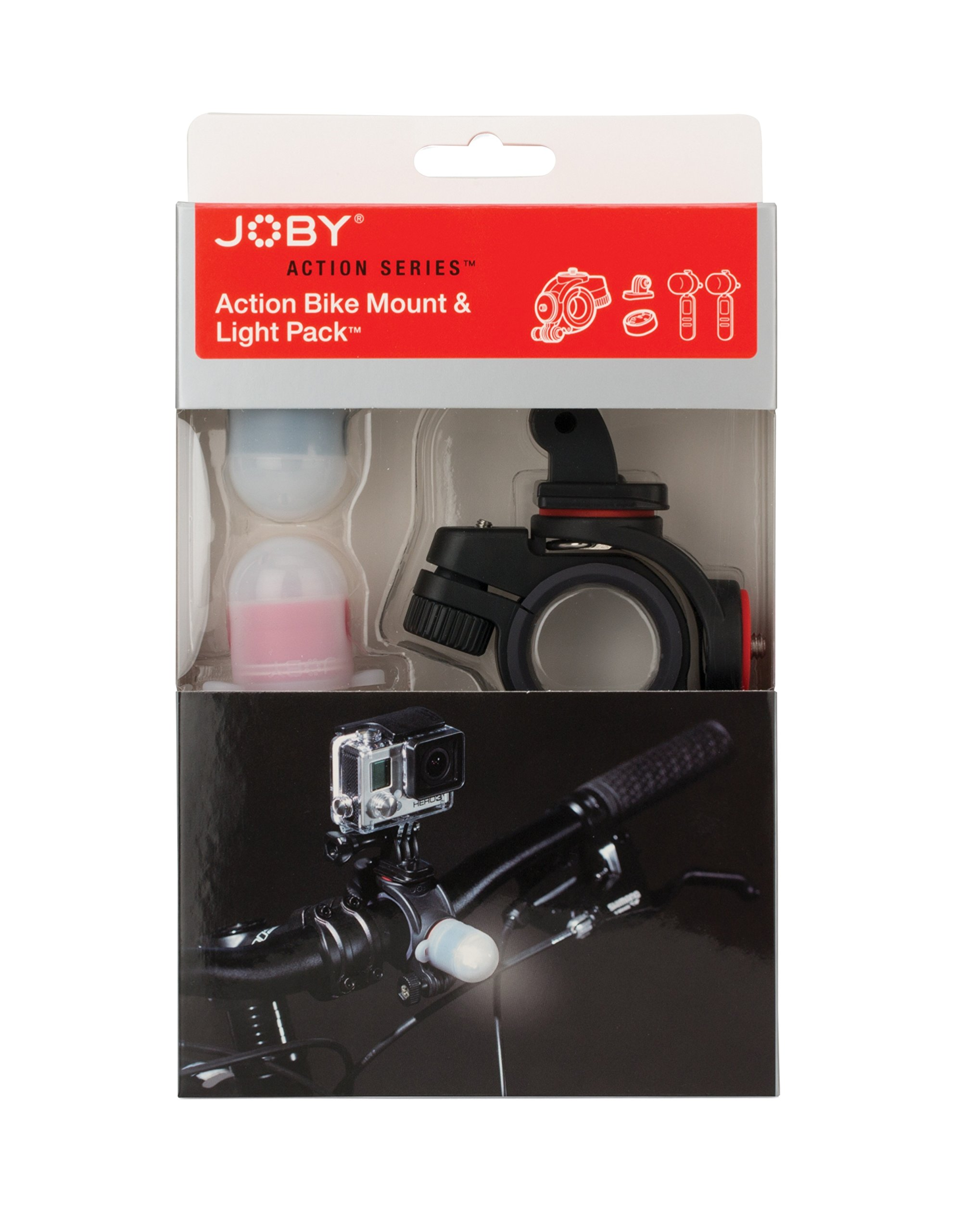 JOBY Bike Mount & Light Pack for GoPro or Other Action Video Camera