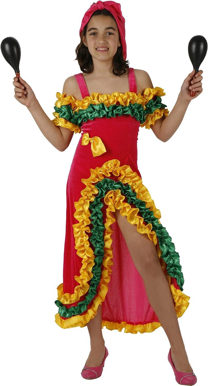Disfraz de bailarina brasileña para niña: Amazon.es: Juguetes y juegos