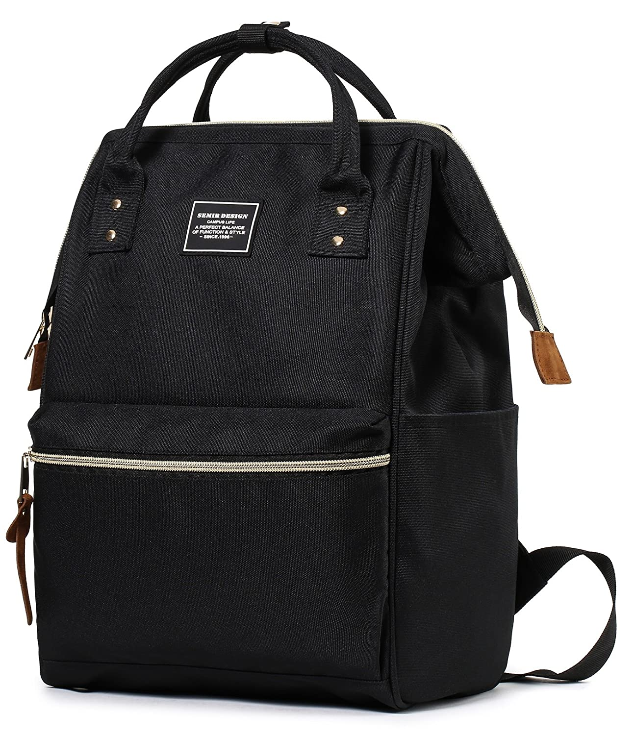 8f82134039b5 SEMIR 13 Inch Fashion Stylish Ladies Computer Best Business Travel Picnic  College Backpacks...