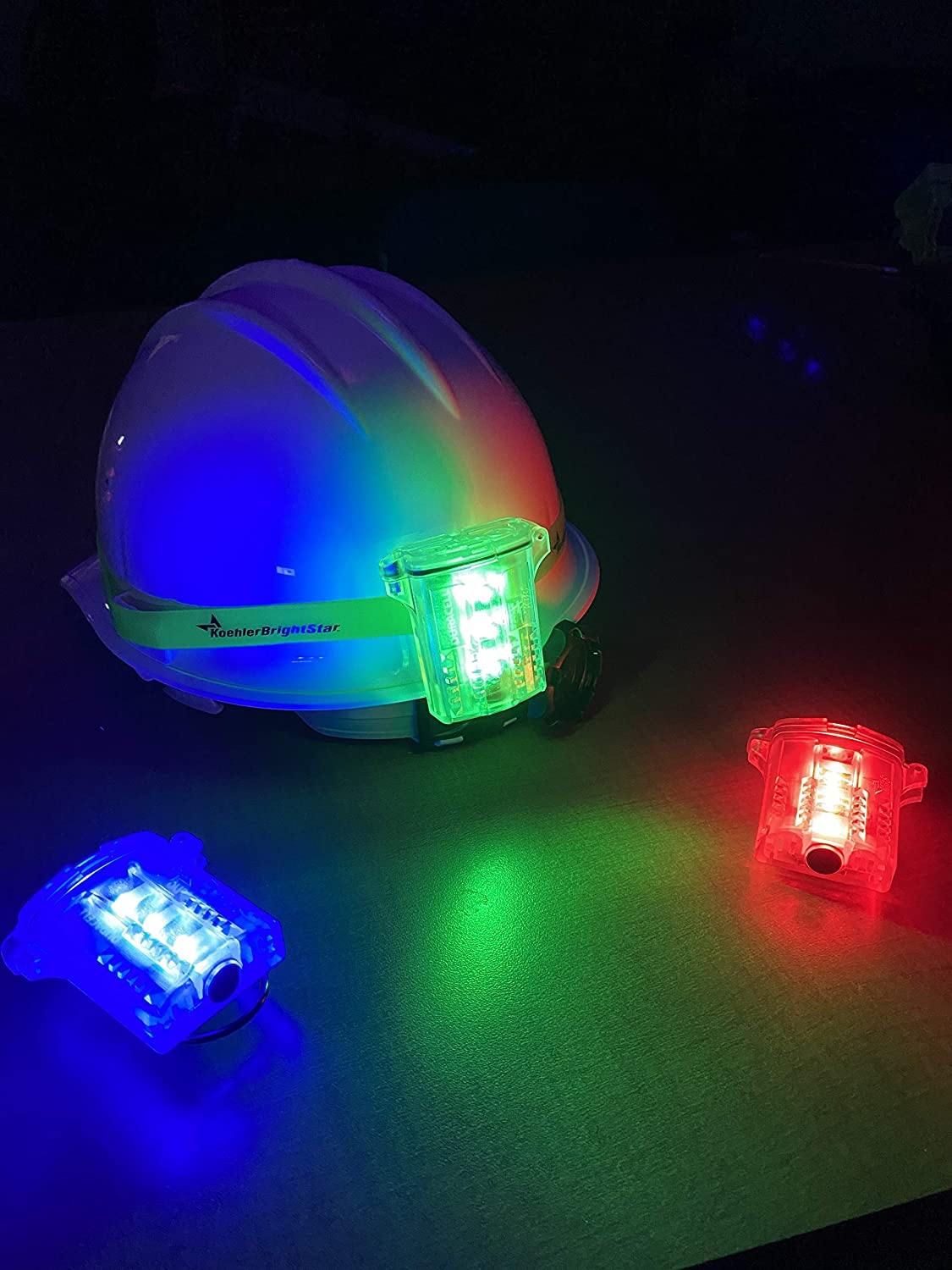 More Koehler Bright Star Freakin/' Beacon Personal Safety Light Visible from 1000+ Feet Industrial Use Biking IP67 Water-Resistant and Intrinsically Safe Design for Work Running