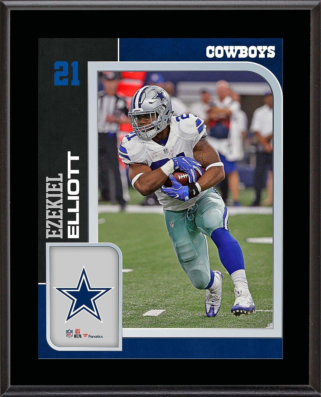 e2e8deb4 Ezekiel Elliott Dallas Cowboys 10.5'' x 13'' Sublimated Player Plaque - NFL  Player Plaques and Collages