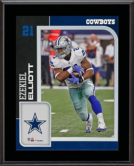 7e9d8748f Ezekiel Elliott Dallas Cowboys 10.5   x 13   Sublimated Player Plaque - NFL