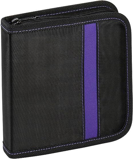 Vivanco Cd Dvd Tasche Nylon Blue Ray Case Wallet Computer Zubehör