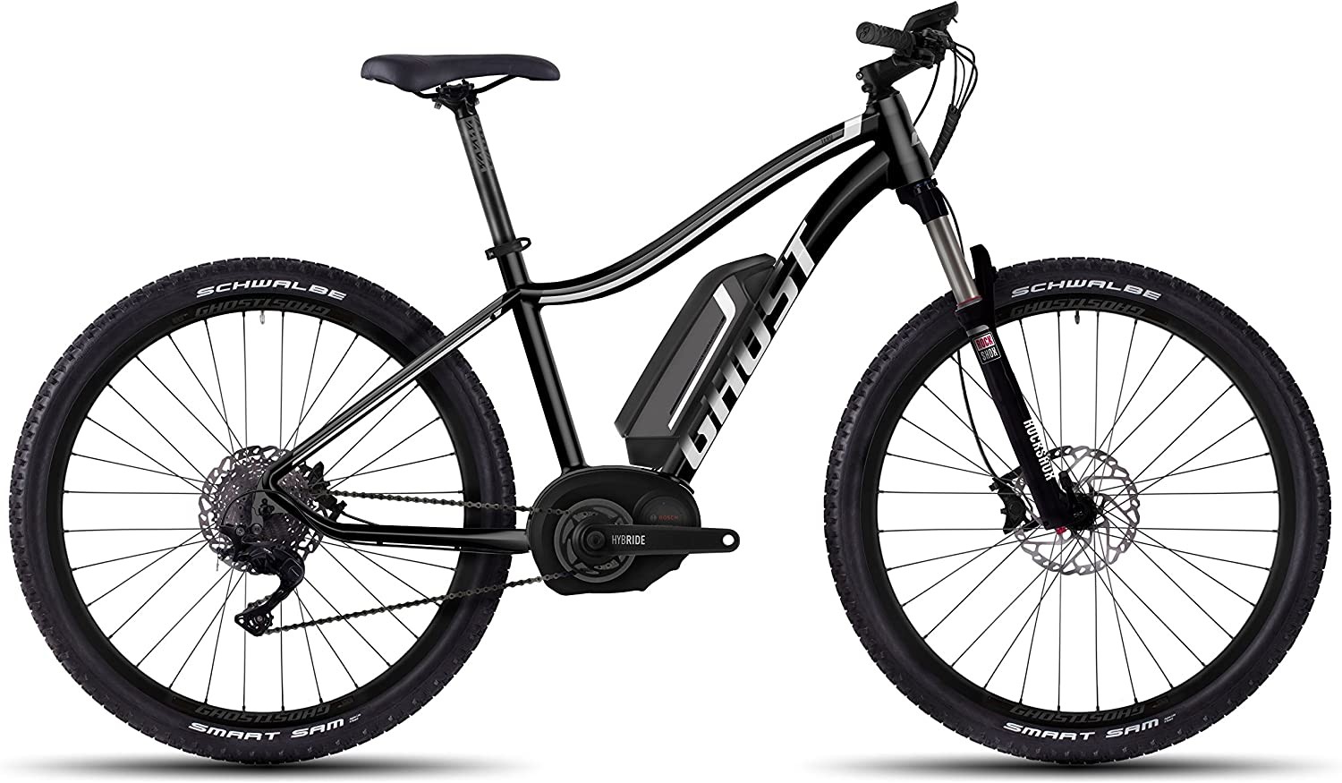 GHOST Bikes teru 5 Miss Black/Grey/White E-Bike – 27.5 500 WH de ...